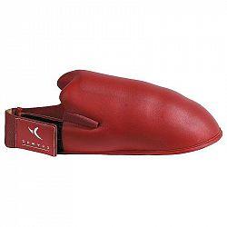 DOMYOS Chránič nôh na karate červený