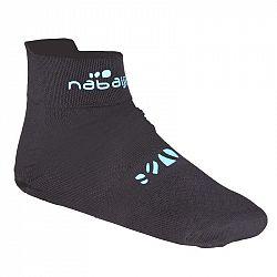 NABAIJI Ponožky Aquasocks čierne